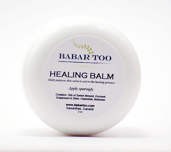 Babar Too – Healing Balm – 2oz – white
