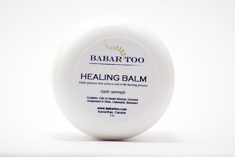 Babar Too – Healing Balm – 2oz – white