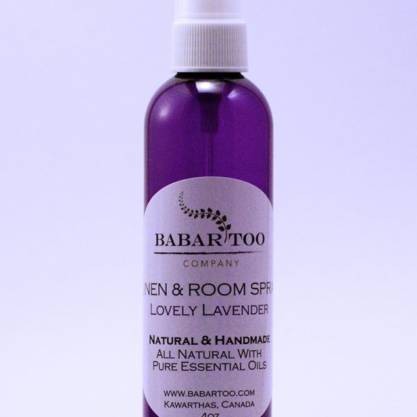 Babar Too – Linen and Room Spray – Lovely Lavender – 4oz – Purple