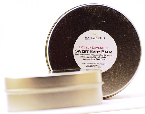 Babar Too – Sweet Baby Balm – Lovely Lavender – 2oz – Tin
