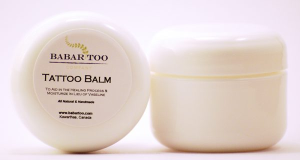 Babar Too – Tattoo Balm – 4oz – White